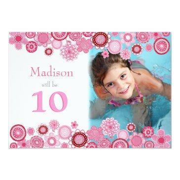 10th birthday invitation