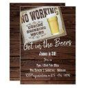 30th birthday cheers to beers mens invitations