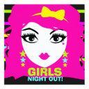 311 sweet neon punk invite