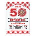 50th birthday barbecue invitations