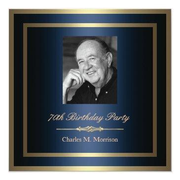 70th birthday invitation - photo