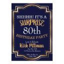 80th surprise party invitations