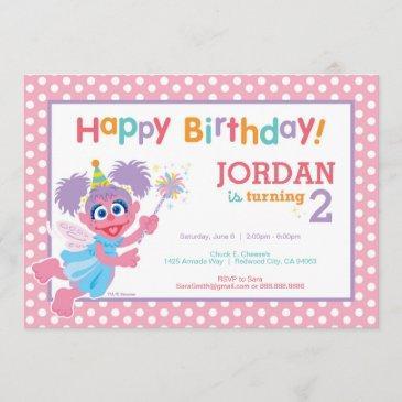 abby birthday invitation