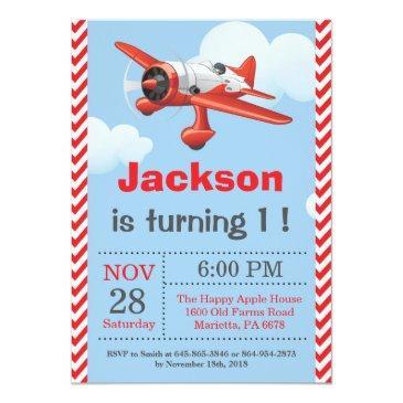 Airplane Birthday Invitations Birthdayinvitations4u