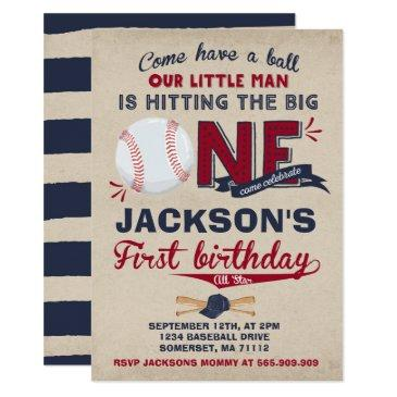 baseball birthday  baseball 1st birthday