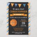 basketball birthday invitation 1st birthday party