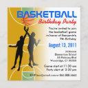 basketball birthday party invitation 1
