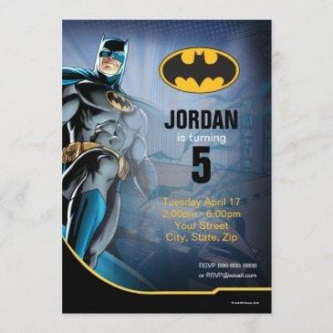 batman | happy birthday invitation