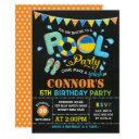 boys pool party birthday chalkboard invitations