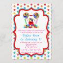 candyland candy first birthday birthday invitation