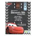 cars birthday invitation