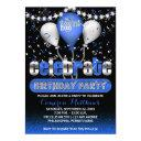celebrate balloons confetti 18th birthday party invitation