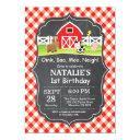 chalkboard farm birthday invitations barnyard party