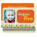 choo choo happy birthday train boy birthday party invitations