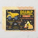 construction joint birthday invitation siblings