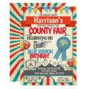 county fair birthday party invitations