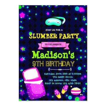 Glow In The Dark Birthday Invitations Birthdayinvitations4u