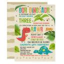 dinosaur birthday invitations dinosaur t-rex party