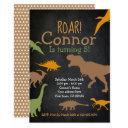 dinosaur birthday invitations, roar party invitations