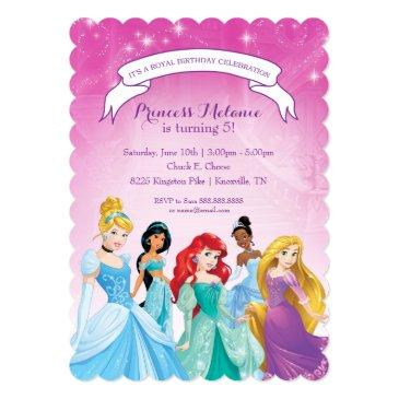 Ariel Birthday Invitations