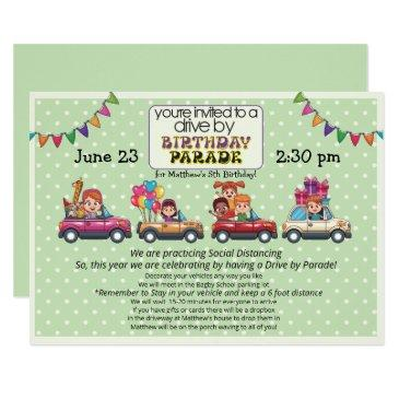 Drive Through Birthday Invitations Birthdayinvitations4u