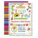 fiesta birthday invitation, mexican fiesta party invitation