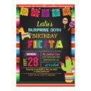 fiesta birthday invitation with pinata