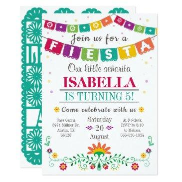 fiesta invitations - birthday invitations all ages