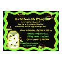 firefly frolic birthday invitations
