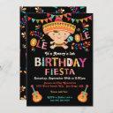 folk art mexican fiesta birthday party invitation