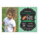 football birthday invitation 1st birthday party