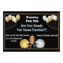 football superbowl party invitations