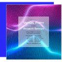 futuristic geometric virtual birthday party invitation