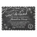gc winter onederland birthday invitation