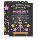gymnastics invitations unicorn gymnastics party