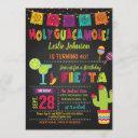 holy guacamole birthday fiesta invitation