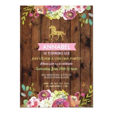 horse riding party invite pony wood invitation