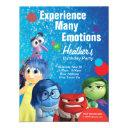 inside out birthday invitations