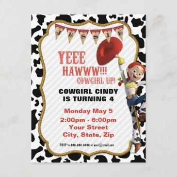 jessie birthday invitation