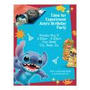 lilo & stitch birthday invitations