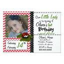 little lady bug invitations