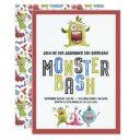 little monster bash birthday invitation