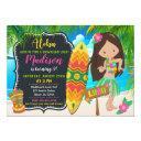luau birthday invitation aloha invites