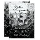 masquerade mardi gras party invitations