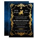 medieval knight jousting birthday invitation