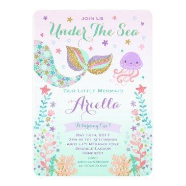 mermaid birthday  under the sea party