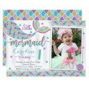 mermaid birthday party invitations invite