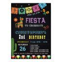 mexican fiesta birthday invitations | fiesta party