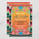 mexican mis 16 anos party gold glitter invitation