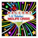 midlife crisis party - srf invitations